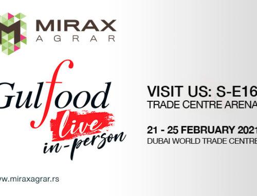 Mirax Agrar – GULFOOD 2021